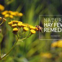 Natural hay fever remedies